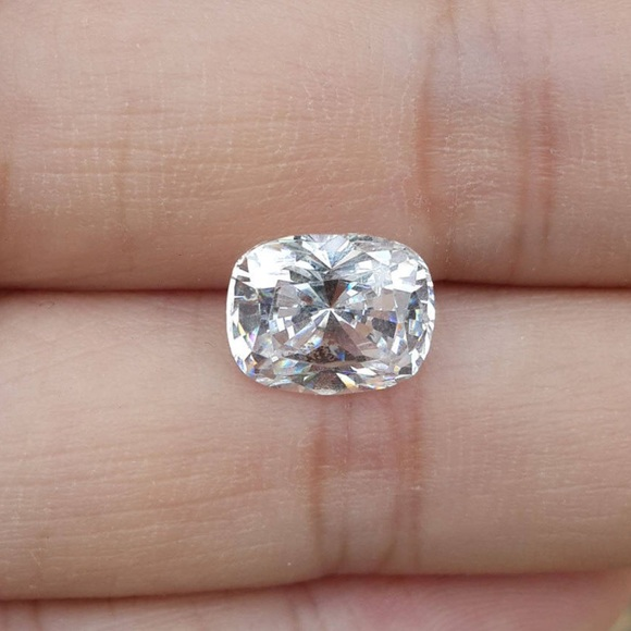 Elongated Cushion Cut Simulated Diamond Boutique